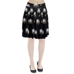 Silver balls Pleated Skirt