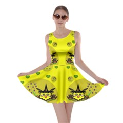 Wizard Mice In Fairy Dust Popart Skater Dress by pepitasart