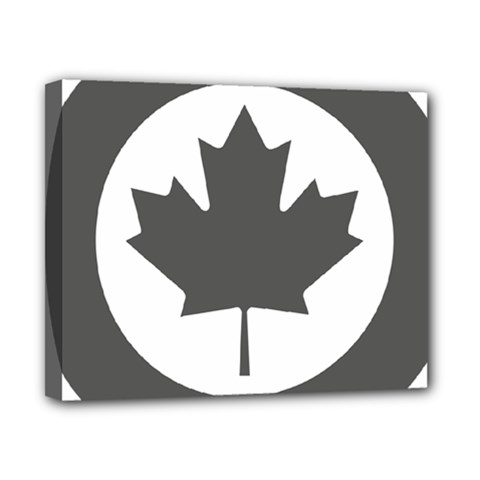 Low Visibility Roundel Of The Royal Canadian Air Force Canvas 10  X 8