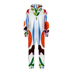 National Emblem of Djibouti  Hooded Jumpsuit (Kids) by abbeyz71