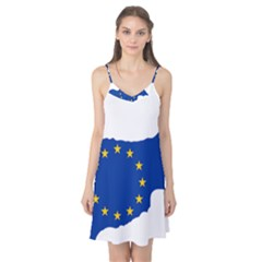 European Flag Map Of Cyprus  Camis Nightgown by abbeyz71