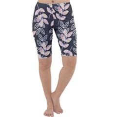 Winter Foliage Cropped Leggings