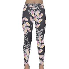 Winter Foliage Yoga Leggings