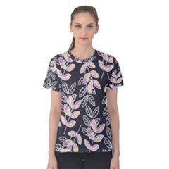 Winter Foliage Women s Cotton Tee by DanaeStudio