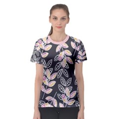 Winter Foliage Women s Sport Mesh Tee