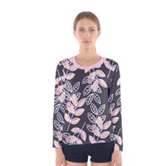 Winter Foliage Women s Long Sleeve Tee