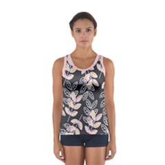 Winter Foliage Women s Sport Tank Top