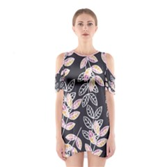 Winter Foliage Women s Cutout Shoulder One Piece by DanaeStudio