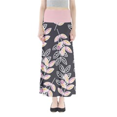 Winter Foliage Women s Maxi Skirt by DanaeStudio