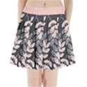 Winter Foliage Pleated Mini Skirt View1