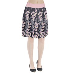 Winter Foliage Pleated Skirt