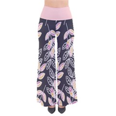 Winter Foliage Women s Chic Palazzo Pants