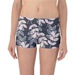 Winter Foliage Reversible Boyleg Bikini Bottoms