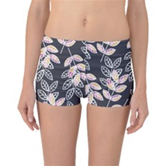 Winter Foliage Boyleg Bikini Bottoms by DanaeStudio