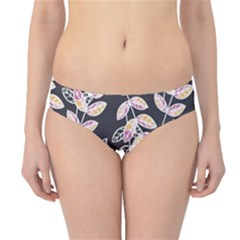 Winter Foliage Hipster Bikini Bottoms by DanaeStudio