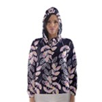 Winter Foliage Hooded Wind Breaker (Women)