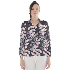 Winter Foliage Wind Breaker (women) by DanaeStudio