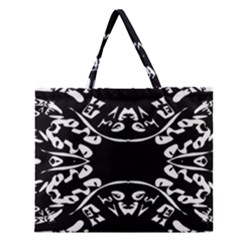 Plight Zipper Large Tote Bag by MRTACPANS