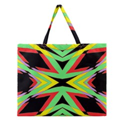 The One Zipper Large Tote Bag by MRTACPANS
