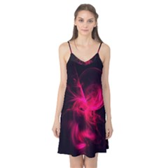 Pink Flame Fractal Pattern Camis Nightgown