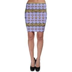 Soul Flower Bodycon Skirt by pepitasart