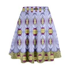 Soul Flower High Waist Skirt by pepitasart