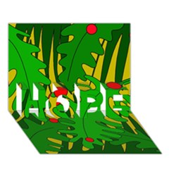 In The Jungle Hope 3d Greeting Card (7x5) by Valentinaart