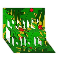 In The Jungle You Did It 3d Greeting Card (7x5) by Valentinaart