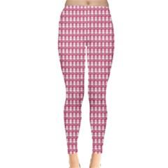 Feminist Pink Leggings  by sevendayswonder