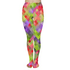 Colorful Mosaic Tights