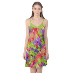 Colorful Mosaic Camis Nightgown
