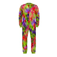 Colorful Mosaic Onepiece Jumpsuit (kids) by DanaeStudio