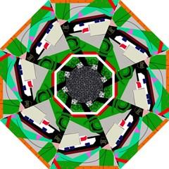 Trip Hook Handle Umbrellas (medium) by Valentinaart