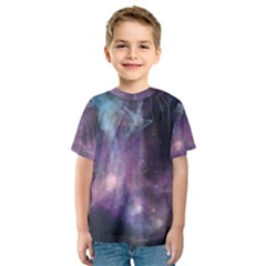 Blue Galaxy Kid s Sport Mesh Tee