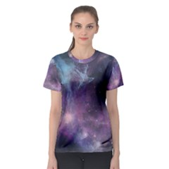 Blue Galaxy Women s Sport Mesh Tee