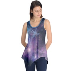 Blue Galaxy Sleeveless Tunic