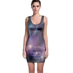 Blue Galaxy Bodycon Dress by DanaeStudio