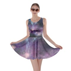 Blue Galaxy Skater Dress by DanaeStudio