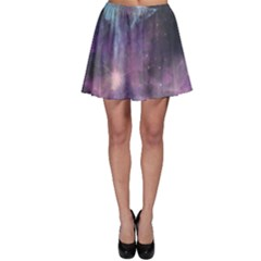 Blue Galaxy Skater Skirt