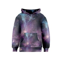Blue Galaxy Kids  Pullover Hoodie by DanaeStudio