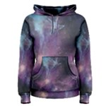 Blue Galaxy Women s Pullover Hoodie