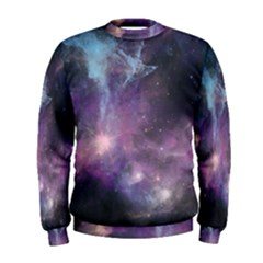Blue Galaxy Men s Sweatshirt by DanaeStudio