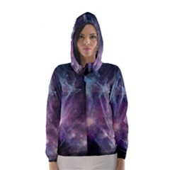 Blue Galaxy Hooded Wind Breaker (women)