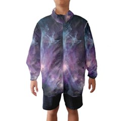 Blue Galaxy Wind Breaker (kids)