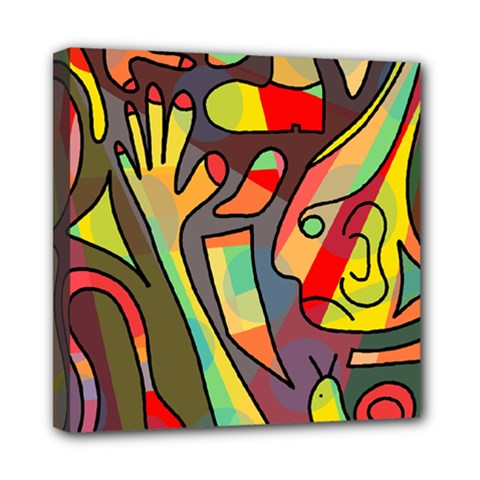 Colorful Dream Mini Canvas 8  X 8  by Valentinaart