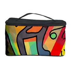 Colorful Dream Cosmetic Storage Case by Valentinaart