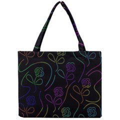 Flowers   Pattern Mini Tote Bag by Valentinaart