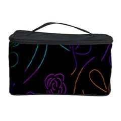 Flowers   Pattern Cosmetic Storage Case by Valentinaart
