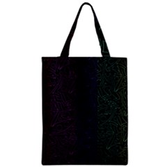 Colorful Elegant Pattern Zipper Classic Tote Bag by Valentinaart