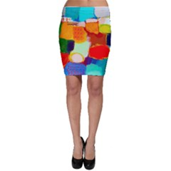 Peace2 Bodycon Skirt by BIBILOVER